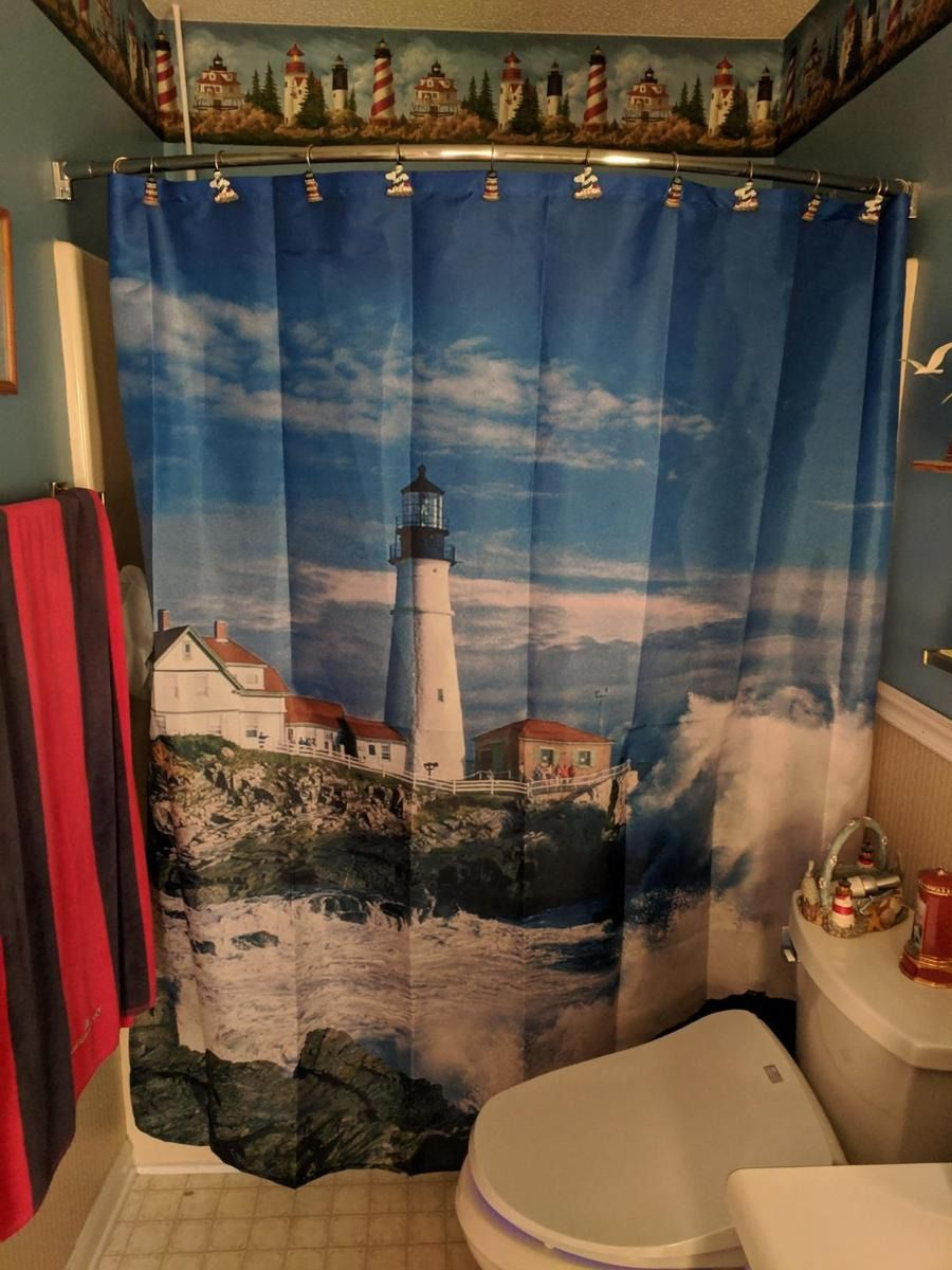 Lighthouse Bathroom Decor 2021 In 2020 Lighthouse Decor Bathroom Decor Decor