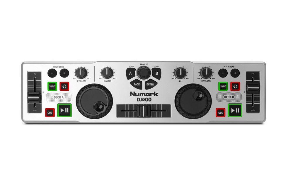 USB DJ Controller Ultra Portable Mac PC Music MIDI A/B Deck