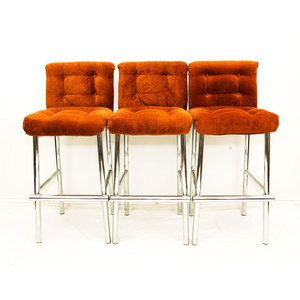 70s Bar Stools Burnt Orange Now Featured On Fab.