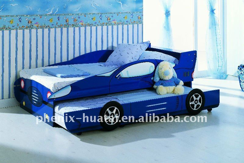 Bunk Bed Blue Carskid