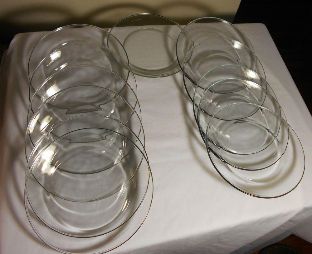 Clear Gl Dinner Plates