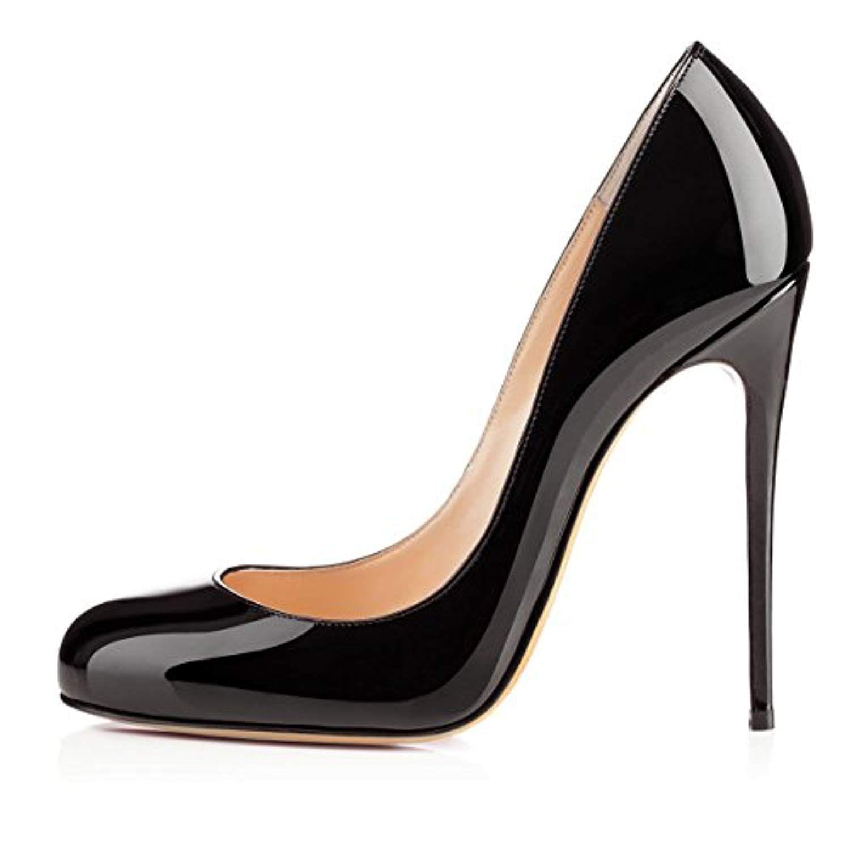 fbd0c157cda254 Soireelady Escarpins Femme Sexy,Coupe fermées femme,Talon Haut Aiguille  Chaussures 2018