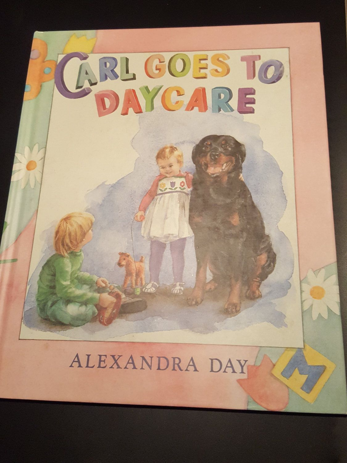 Carl goes to daycare by alexandra day hardcover book pet dog carl goes to daycare by alexandra day hardcover book pet dog rottweiler illustrated hardcover bookseaster giftpet negle Choice Image