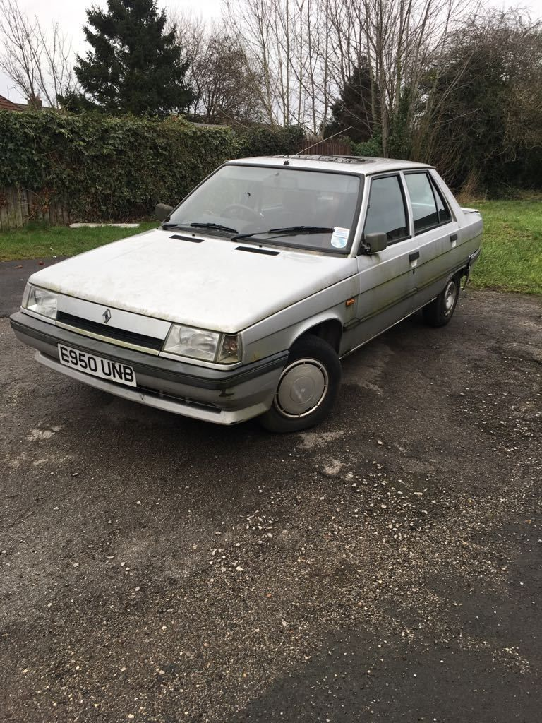 1988 Renault 9 Automatic Rare Barn Find Classic (not many in U.K ...
