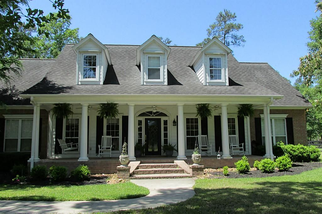 Pin By From My Front Porch To Yours On Home Style Loving Southern House Plans House Exterior My Dream Home
