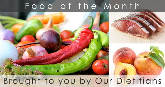 Food of the Month - a full list of all healthy foods!