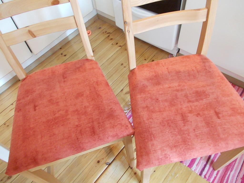 Keittiön tuoleihin uusi kuosi