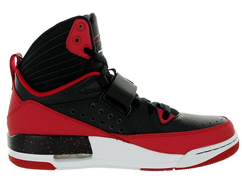 size 40 a6df7 c181a Nike Jordan Men's Jordan Flight 97 Black/White/Gym Red/White Basketball  Shoe 9.5 Men US