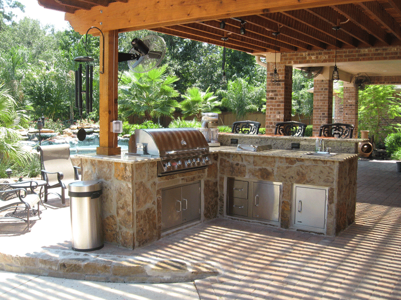 Outdoor Living Kitchens Fire Pits Pergolas And Pool Decks Outdoor Kitchen Design Build Outdoor Kitchen Outdoor Kitchen