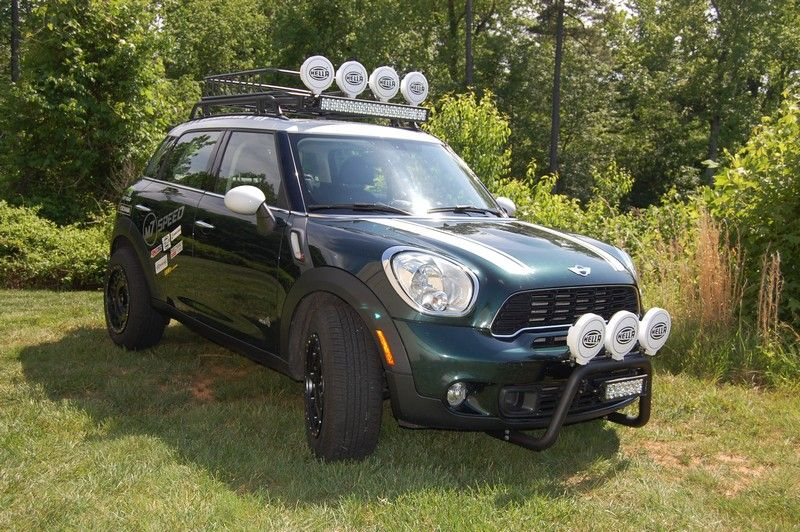 Lifted Mini Cooper Countryman M7 Speed Ironman 2 Mini Pinterest