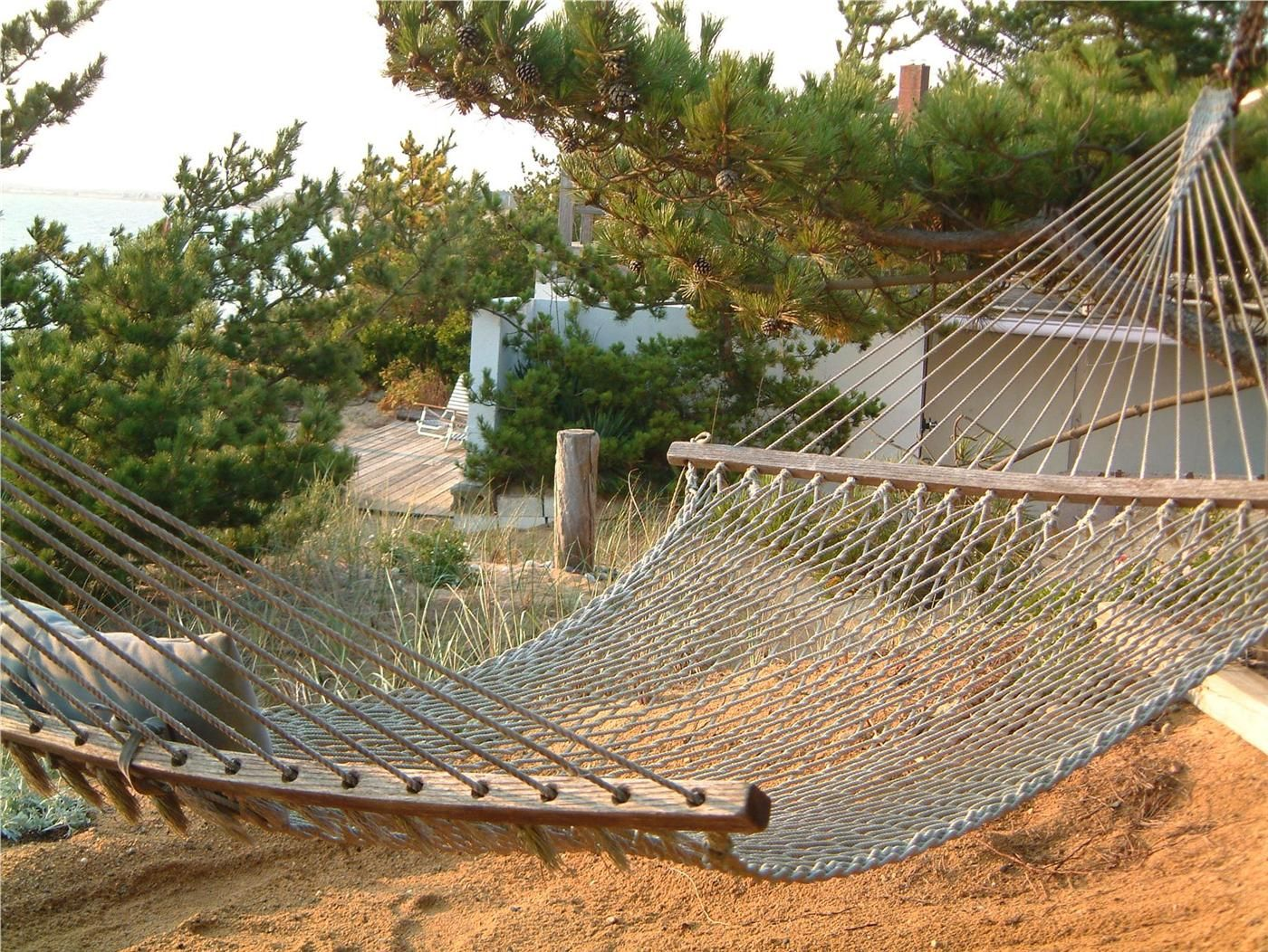 relax on hammock with water view truro cape cod vacation rental on weneedavacation   relax on hammock with water view truro cape cod vacation rental      rh   pinterest