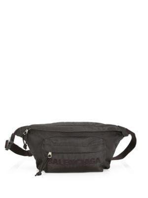 6092271a83 BALENCIAGA Wheel Logo Belt Bag.  balenciaga  bags  belt bags  polyester   nylon