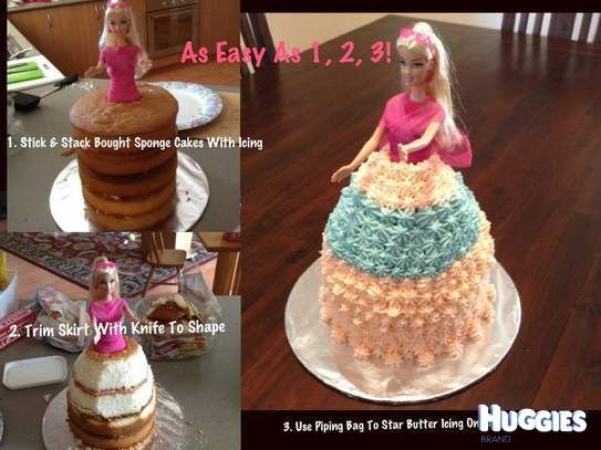 where can i get barbies for cakes toppers can be purchased wanted