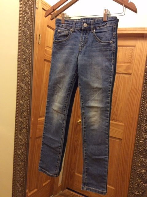 BENETTON BOY'S SKINNY STRETCH JEANS, SIZE: L (see measurements)  #Benetton #SlimSkinny #BoysJeans #BenettoneBoys #Boy's #Jeans #Denim