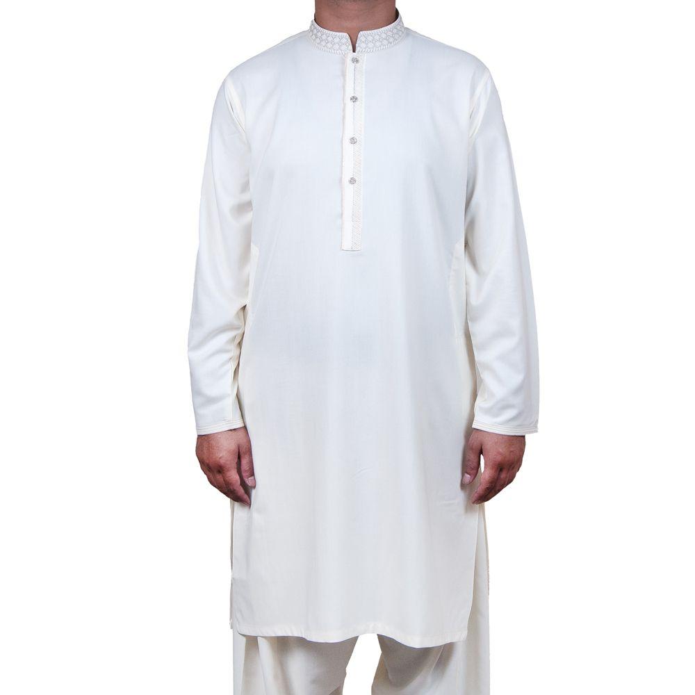 Shalwar suit off white salwarsuit pakistan pakistani men kurta