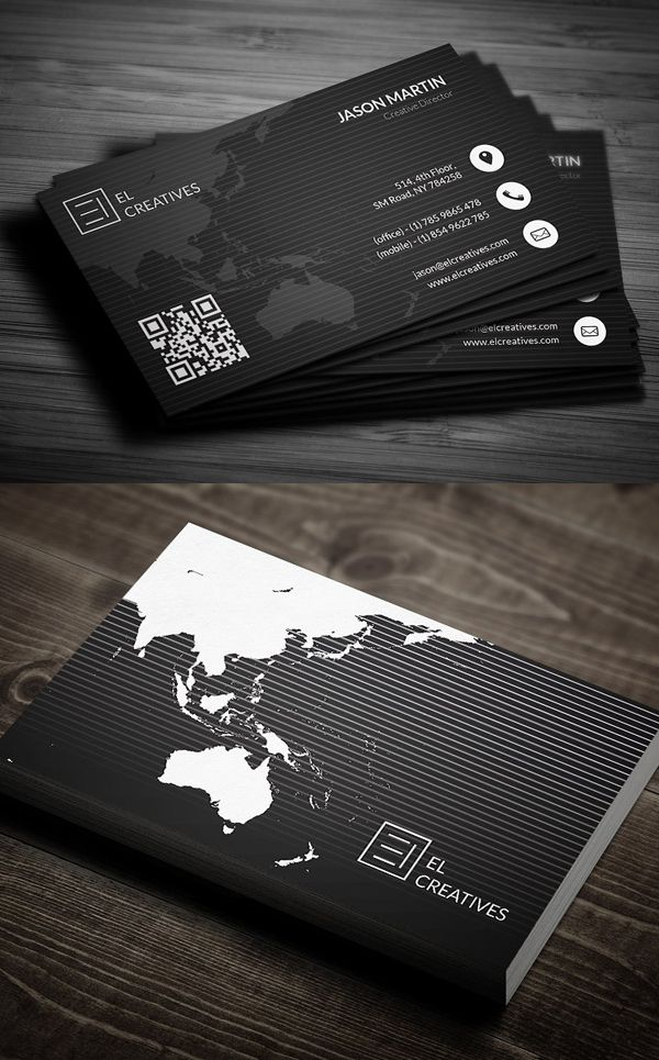 25 New Modern Business Card Templates Print Ready Design With