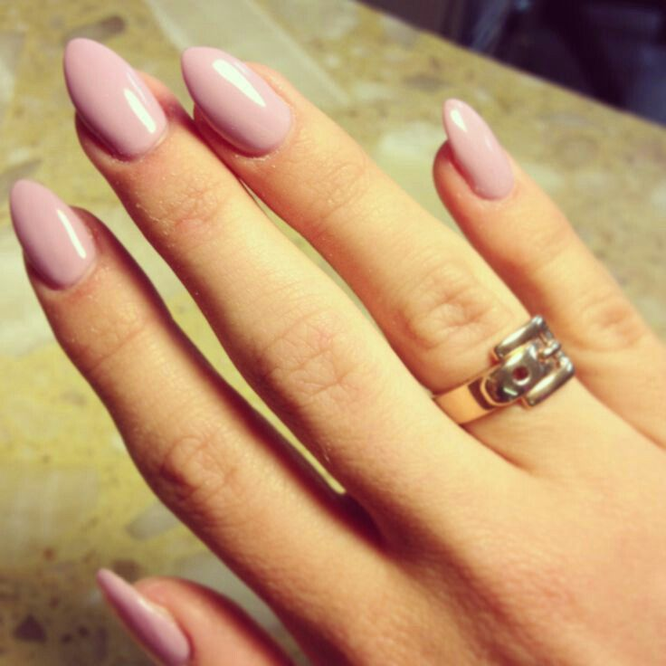 Light Pink Stilettos Nails