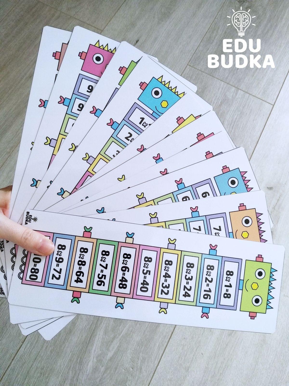 Tabliczka Mnozenia Do 100 10 Plansz 28x9 5 Cm Allegro Pl Cena 16 90 Zl Stan Nowy Staniszcze Wielkie Cards Playing Cards Periodic Table