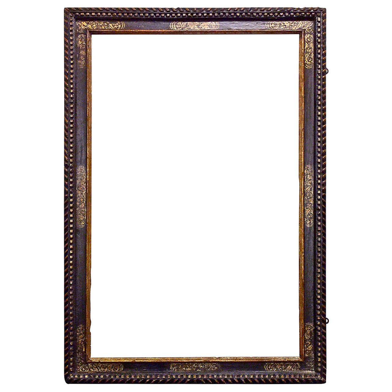 Large Carved and Gilded Spanish Baroque Frame | Spanish, Decorative ...