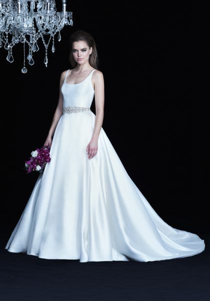 paloma-blanca-classic-ball-gown-wedding-dress-33664608 | One day I ...