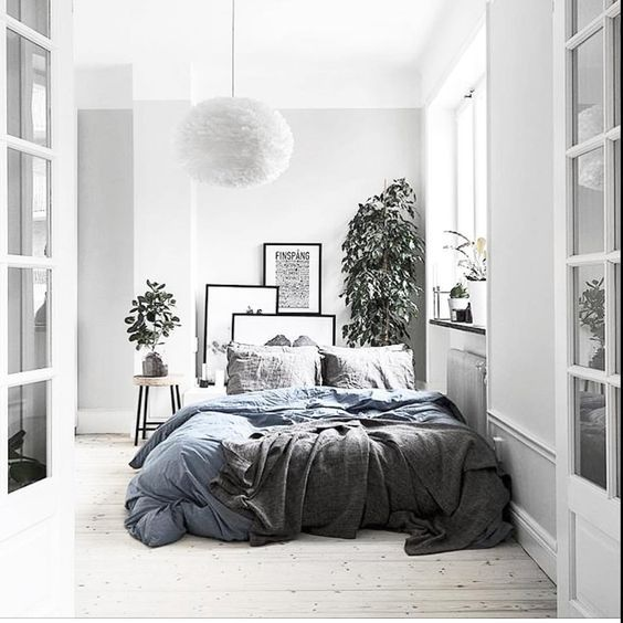 9 Inspirational minimal bedrooms for a relaxing sleep - Daily Dream Decor #minimalbedroom