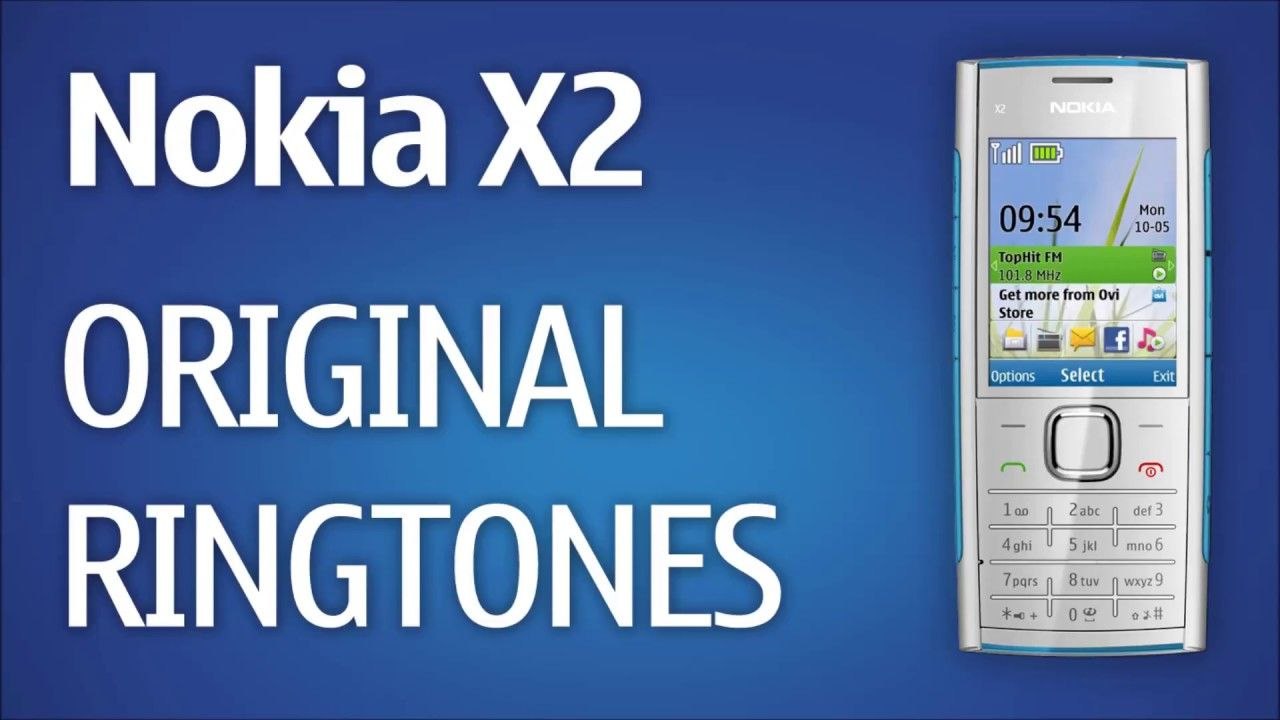 Nokia X2 Original Ringtones | Useful item | The originals