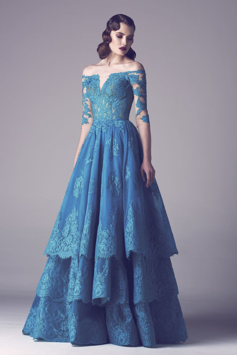 Stunning fadwa balbaki spring summer collection haute couture