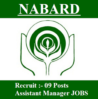 Nabard Recruitment   Assistant Manager