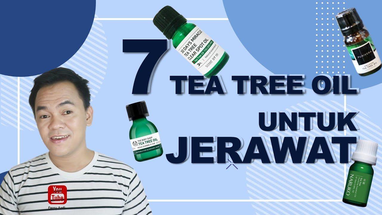 Tea Tree Oil Body Shop Untuk Jerawat Batu