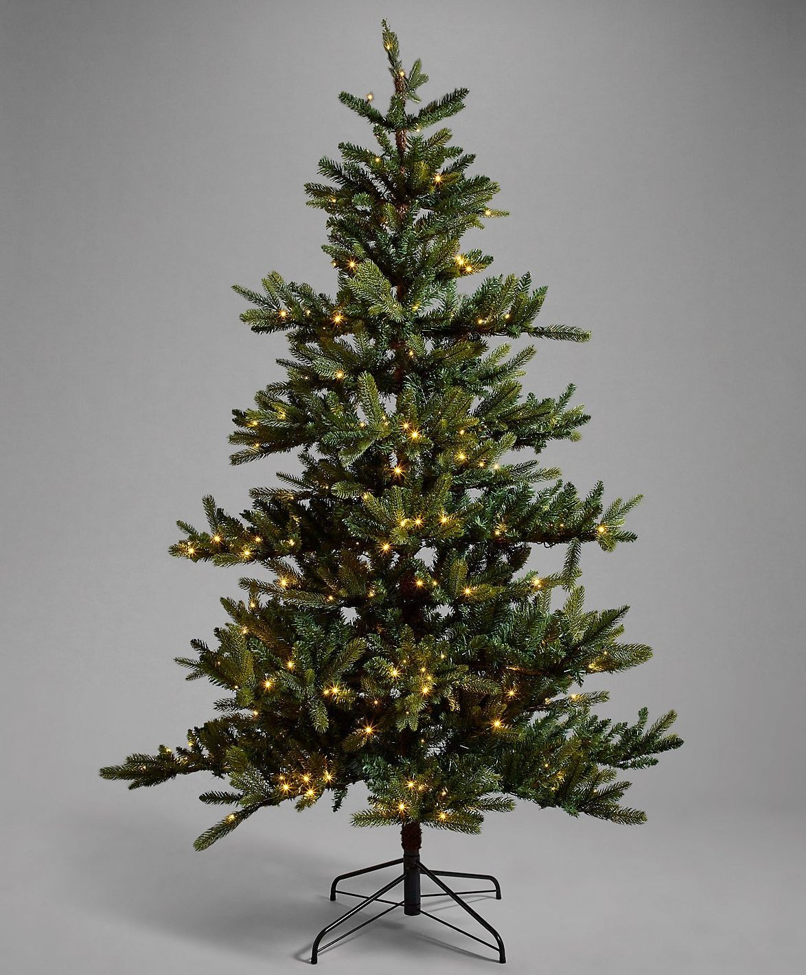 North Star Tree Topper, £26 Christmas tree, Noble fir