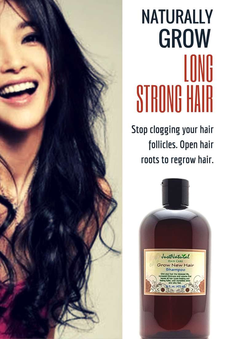 Grow New Hair Shampoo Stop Clogging Your Follicles Open Roots To Regrow Fast Fix For Weak Reverse Damage