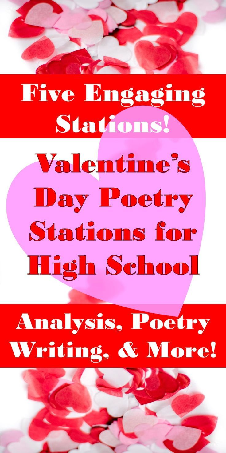 Valentine's Day Poetry Stations Poetry stations, Poetry