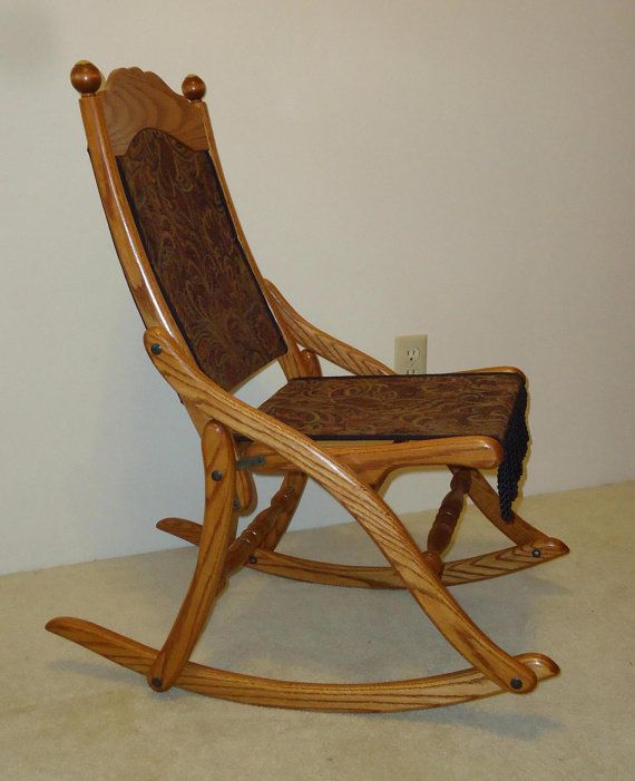Admirable Civil War Folding Rocking Chair Rock A Bye My Baby Machost Co Dining Chair Design Ideas Machostcouk