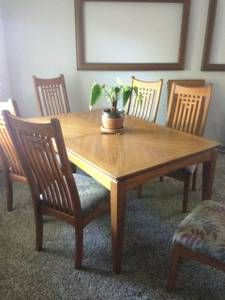 Inland Empire Furniture Dining Room Set Craigslist Dining
