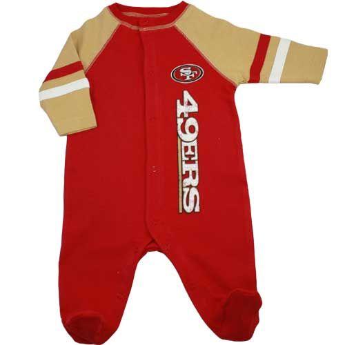 San Francisco 49ers Newborn Sleeper  c073ebf38