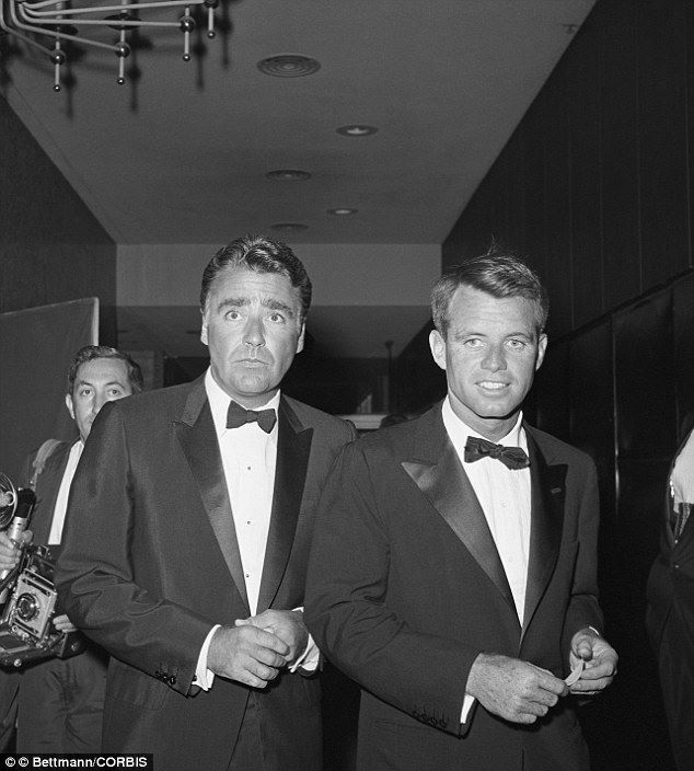 Peter Lawford And Bobby Kennedy With Images Patricia Kennedy