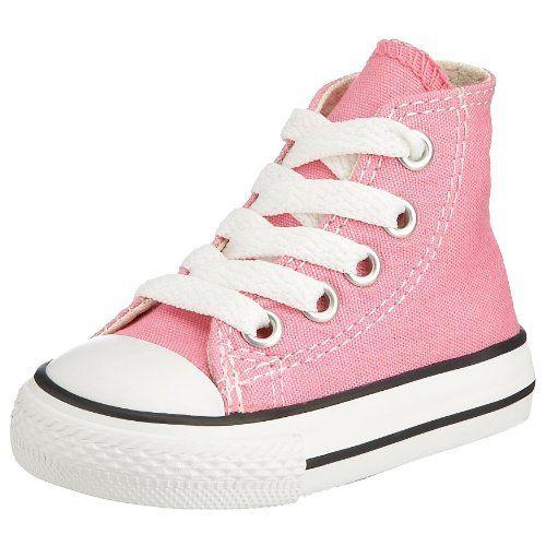 Amazon.com: Converse Girls' Chuck Taylor All Star Hi Top Sneaker ...