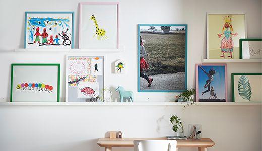 ikea bilder und rahmen wie z b fiskbo rahmen wei. Black Bedroom Furniture Sets. Home Design Ideas