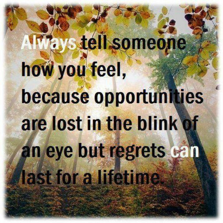regret always comes too late 2018-5-30 relationships don't always  assertiveness is a skill that many people learn too late  a little altruism can go a long way when it comes to avoiding regret.