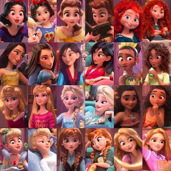 Disney Princesses Style by LOLDisney on DeviantArt - Disney/Filme -