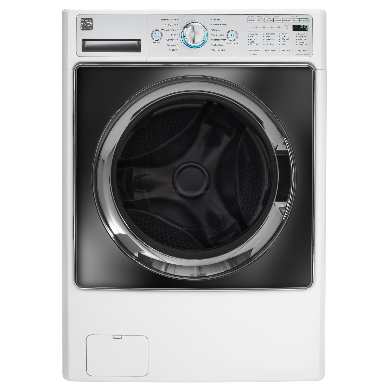 1299 99 Kenmore Elite 41002 Washer And Dryer Combo The Best Wash And Dry In One Machine Combination Washer Dryer