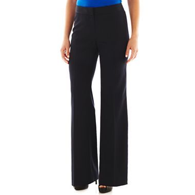 9 & Co.® Pinstripe Straight-Leg Pants - jcpenney