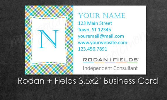 RF Consultant Business Card  Customizable Rodan  by MyMagicMom