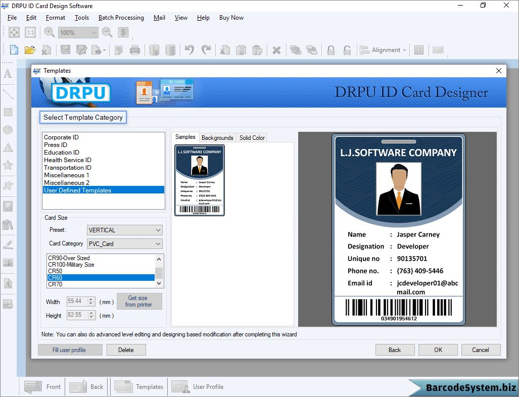 Identity Card Software Design Student Employee Faculty Photo Regarding Faculty Id Card Template Business Card Template Photoshop Design Student Software Design
