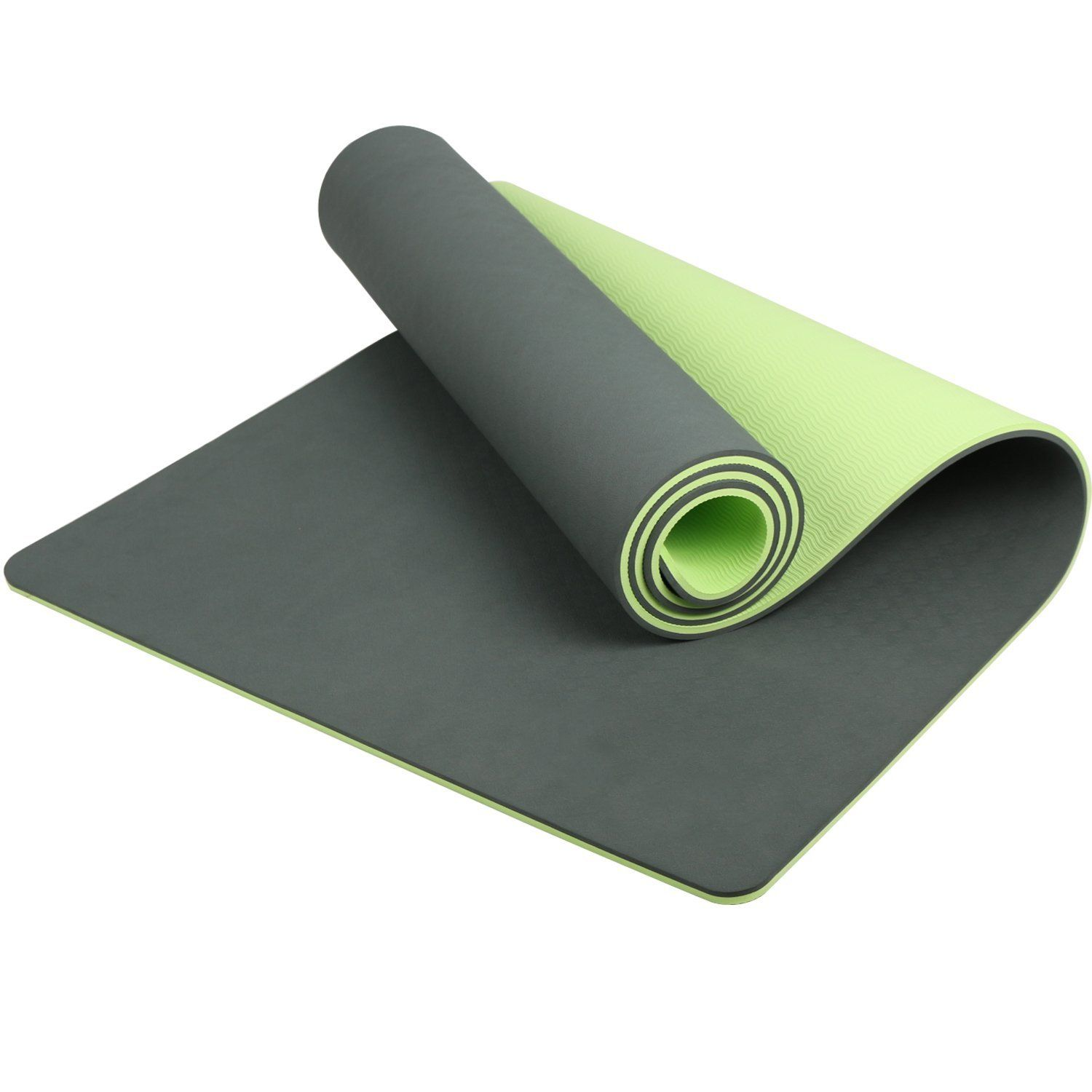 Lhotsex 1 4 Inch Exercise Yoga Mat Eco Friendly Non Slip Exercise Yoga Mat For Pilates Fitness And Workout See This Mat Exercises Pilates Workout Yoga Mat
