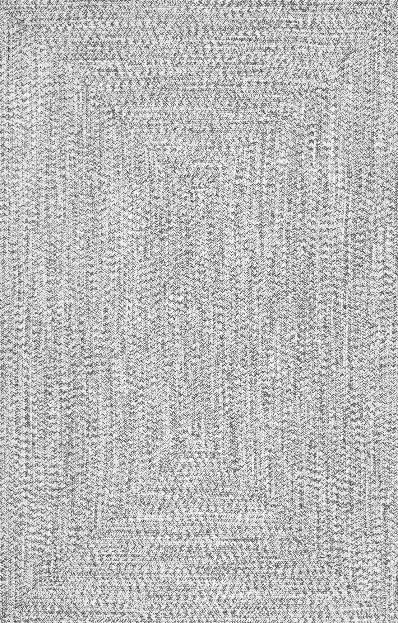 Nuloom Salt And Pepper Braided Lefebvre Hjfv01c Area Rug