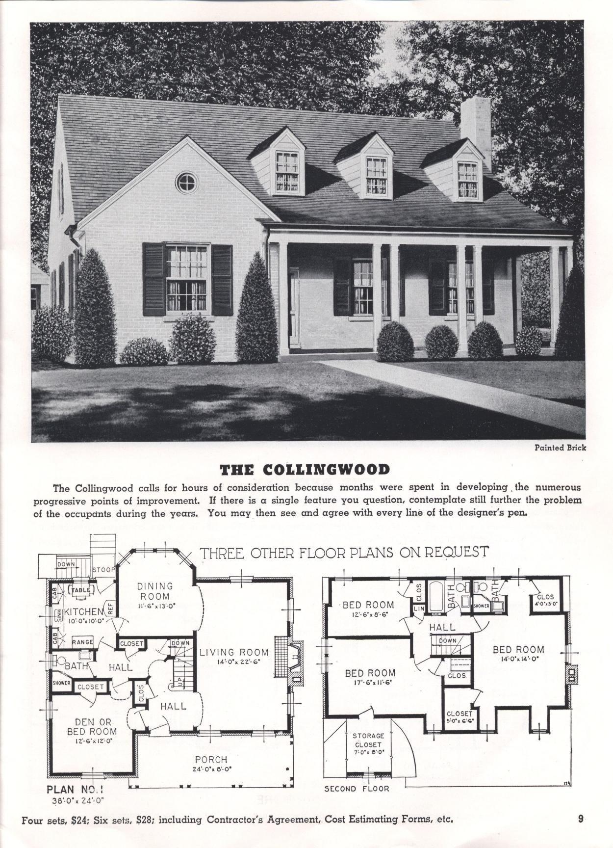 Vintage Interior Design Ideas To Convert Your Home Floor Plans House Plans Vintage Architecture