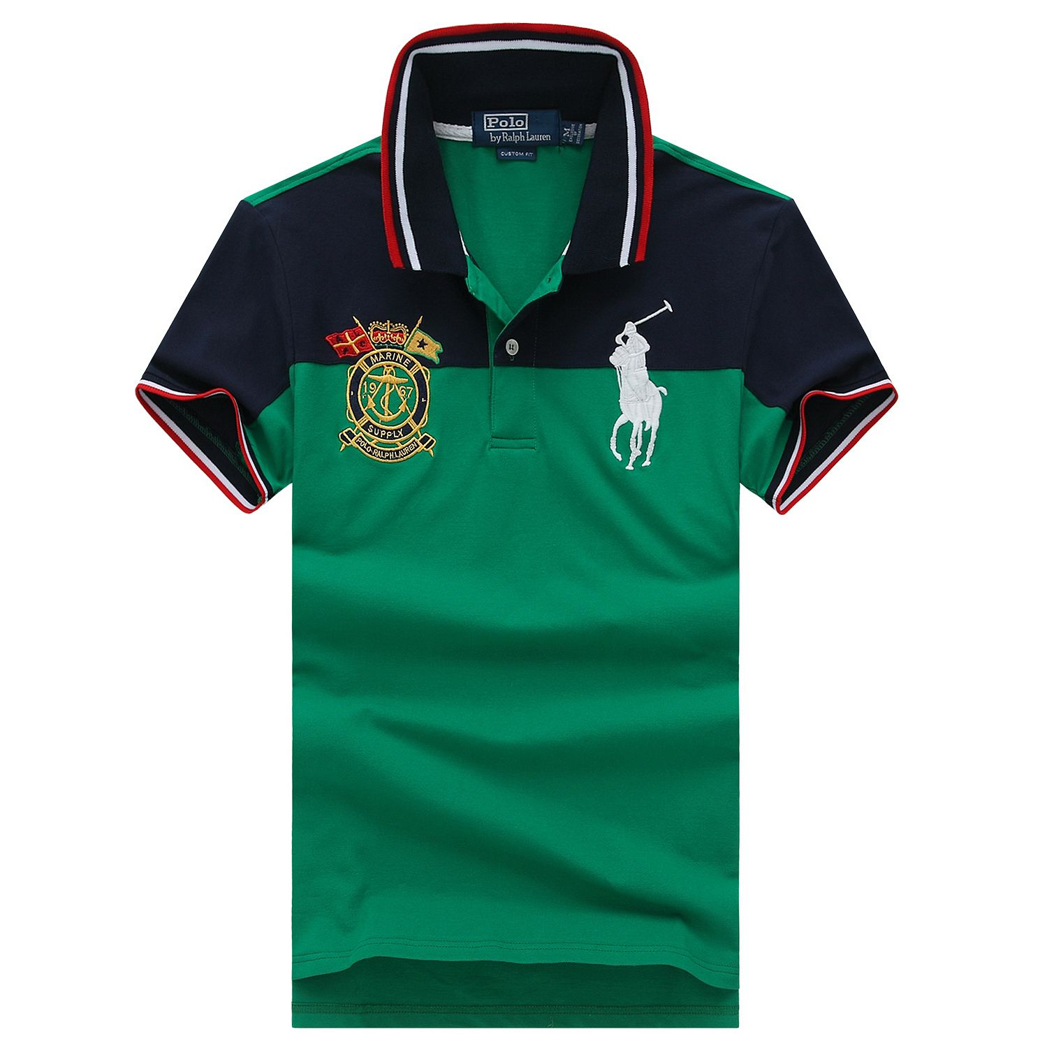 Polo Ralph Lauren Men's Custom Fit Big Pony Mexico PRL Cup
