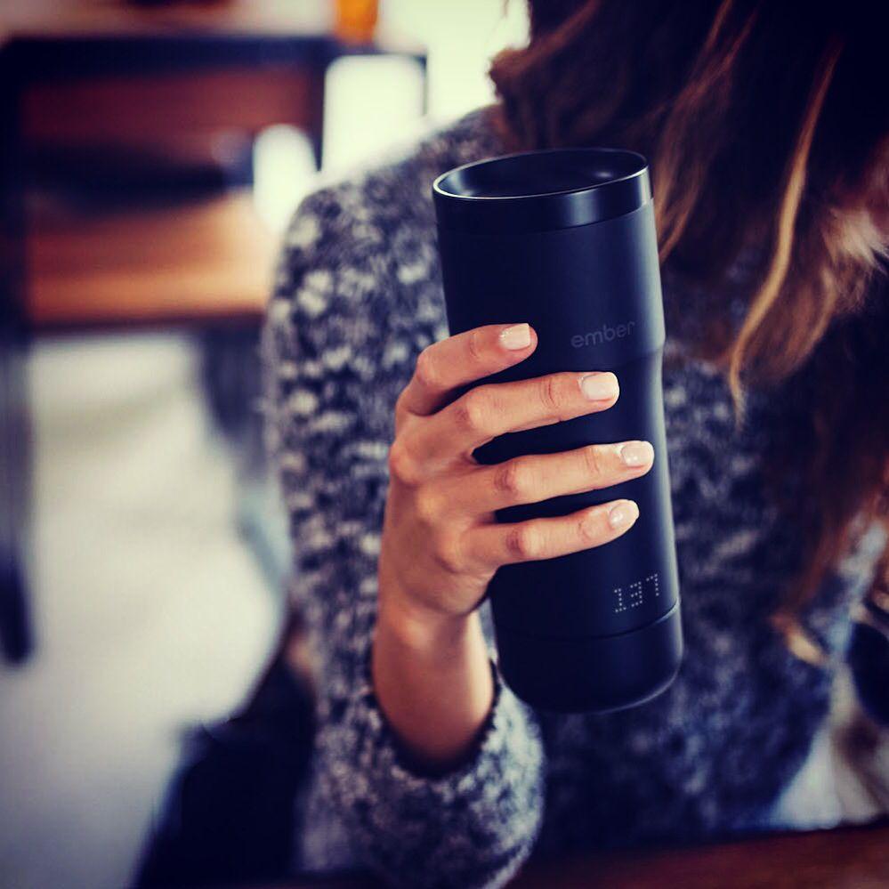 Hi guys! Today Ember Mug is the better way for start this morning!! @ember_tech see my new post on http://nerdyside.com/ember-mug/