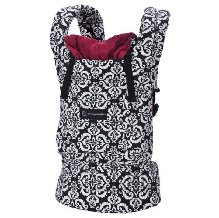 Black And White Print Ergo Baby Carrier Ergo Baby Carrier